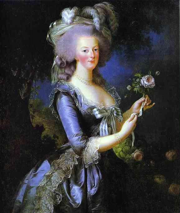 Marie-Antoinette par Mme Vigée-Lebrun