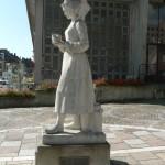 Statue de Marie Harel de 1956