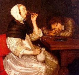 ter-broch-femme-buvant-avec