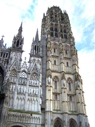 """La """"Tour de beurre"""" de Rouen"""
