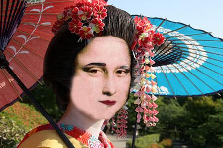 Mona : geisha loupée ?