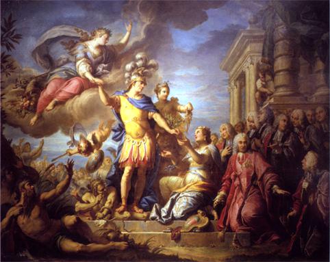 paix-d'aix-1748-louis-XV