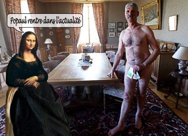 Un conseiller municipal pose nu dans l'Est Républicain