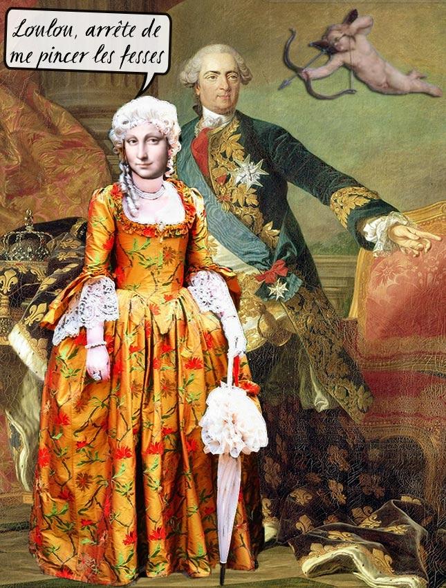 Louis XV aimait son Bécu à la Jeanne