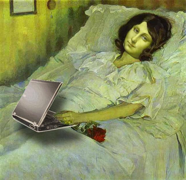Mona convalescente